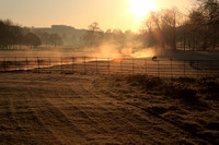 Card - Lavant Valley at Sunrise